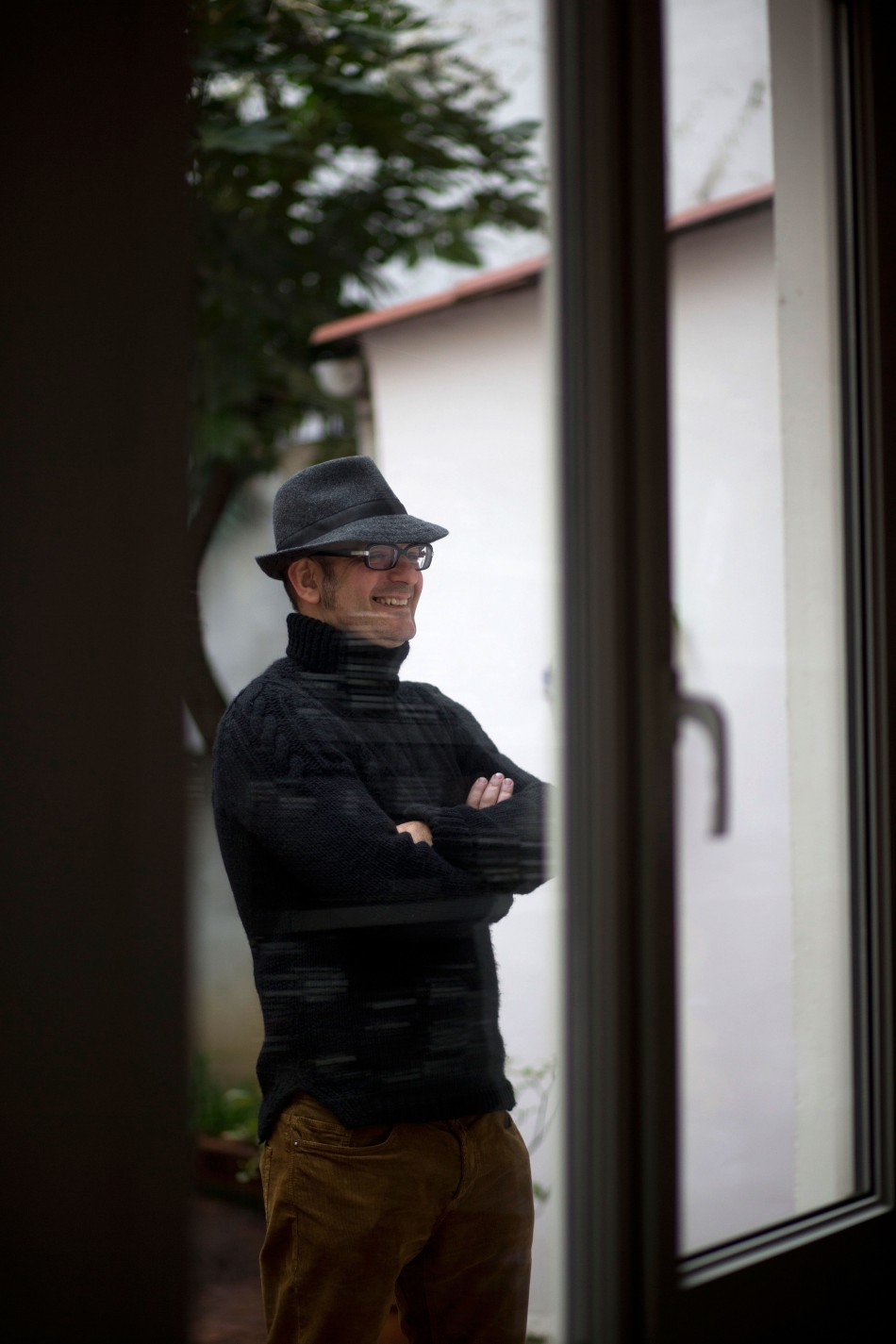 Oviedo.  14-3-2013. Carlos Barral, pintor y poeta.Foto: Armando Álvarez.